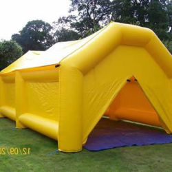 部屋が付いているPVC防水シートの膨脹可能なテント