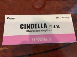 Injectable Cindella pour la beauté et soins pour le visage de blanchir la peau avec une haute qualité