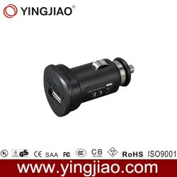 2.1W 5V 10W DC Negro USB Cargador de coche