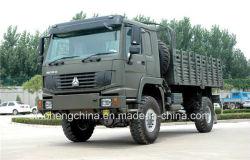 شاحنة شحن Sinotruk HOWO 4X4 للدفع الرباعي الدفع الرباعي 336HP Truck
