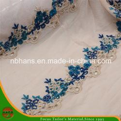 Ricamo del merletto di Tulle per Garment della signora (HATL160003)