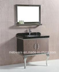 Armário de casa de banho de aço inoxidável / Mobiliário de banho de Chão