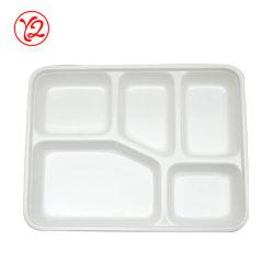 Les fabricants de vaisselle blanche ensemble bac de Fast Food boîte bento