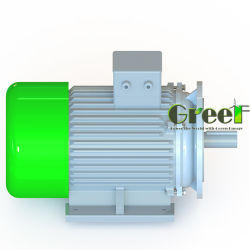 10 kw 250 tpm 3-fasen wisselstroomdynamo zonder borstels, permanente magneetgenerator, zeer efficiënte dynamo, magnetische Aerogenerator