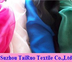 100% chiffoni di seta del poliestere per Fahsion coprono il tessuto