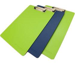 A4 PP Presse-papiers de mousse en plastique avec du papier
