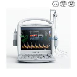 Le BSJ-V3 numérique portable médicaux de diagnostic de l'échographie Doppler couleur