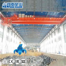 Qz Type 10tonnes 20 tonnes poutre électrique double Grab pont roulant de godet