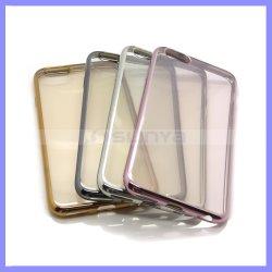 Des Feld-Deckel-Raum-Deckel-für iPhone X billig galvanisieren bunten TPU Stoßkasten 8 8plus plus Rand Samsung-S7 S8