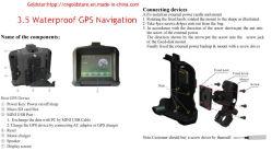 GPS Tracking System mit 3,5-Zoll-Bildschirm