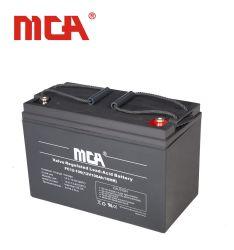 再充電可能な高品質12V 100ahの二次エネルギーの蓄電池