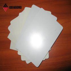 Parete composita di alluminio lucida del rivestimento del comitato ASP di Ideabond con il materiale da costruzione del rivestimento di colore rosso per la decorazione interna