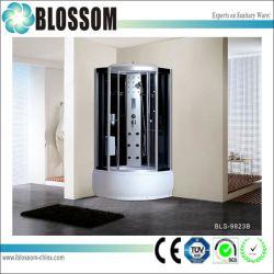Jacuzzi populaire salle de douche complète en verre (BLS-9823B)