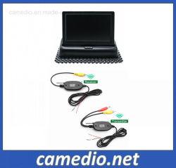 """4.3"""" 접이식 모니터 카 카메라 무선 주차 백업 비디오 시스템"""
