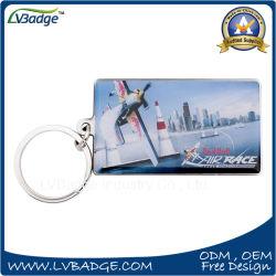 空気クラブ記念品が付いている印刷の金属のKeychainのギフト