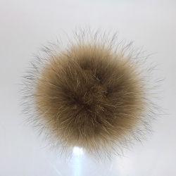 10-15cm Raccoon reale grande pomi di pelliccia/Raccoon Fur Ball/Fur pompoms Raccoon