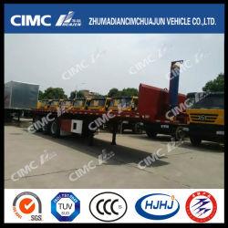 حاوية هيكل Cimc Huajun شبه متقاطعة للحاوية ذات الهيكل الخلفي
