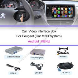 واجهة فيديو الوسائط المتعددة للسيارة لـ Citroen C4L/C5/C3xr Citroen Ds5/Ds6/DS4/DS3 Peugeot308/ 408/508/2008/3008