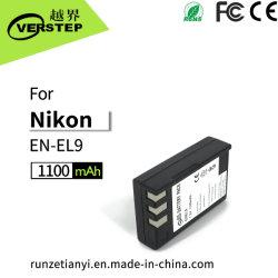 câmara digital Bateria para Nikon En-EL9/EL9um novo visor de decodificação de quantidade de electricidade