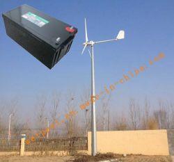 3kw système de générateur d'énergie éolienne pour la maison ou ferme une utilisation hors système de grille Batterie GEL 12V200AH