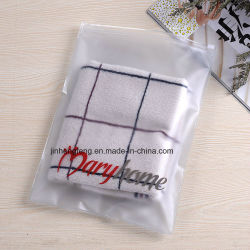 卸売の安い衣服の衣服のTシャツのパッキングジッパーロックのプラスチック包装袋(jhfプラスチック袋001)