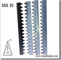 Cuchillo de sierra de plástico para el sello de la bolsa de paquetes de Chocolate