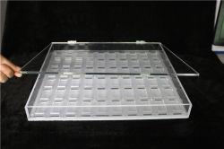 Expositor de lentes de contacto, Acrílico Cuadro Organizador de lentes de contacto.