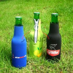 Neopren isolierte Bier-Getränkeflaschen-Hülsen-Beutel-Getränk Koozie Kühlvorrichtung (BC0003)