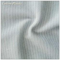 Upholstery를 위한 Sheer String를 가진 아기 Blue Striped Velvet Fabric