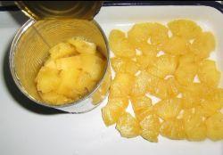 Köstliche Ananas in Büchsen konservierte Ananas im Sirup