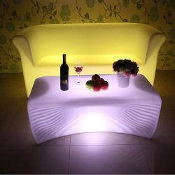 Светодиодной панели столы и стулья пластиковые RGB используются ночной клуб мебель для продажи