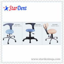 أسنانيّة كرسي تثبيت [بلستيك بس] مساعد كرسي تثبيت طبيب الأسنان كرسيّ مختبر