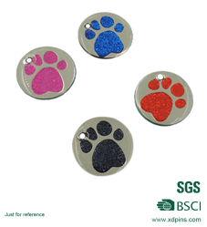Buntes Paw-Pet-Tag Aus Emaille zur Promotion