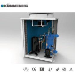 тепловой насос для плавательного бассейна для нагрева воды с PPR титана трубопровод теплообменника