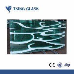 3-12mm Paiting verre fritté Céramique / verre Silk-Screen