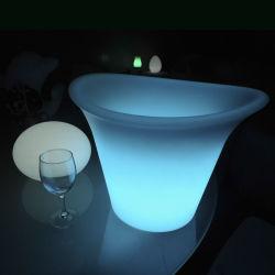 Luz de LED de Controle Remoto Lâmpada Light-Controlled Jardim Plantadeira de energia