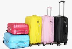 Usine de fabrication de gros Commerce de gros+PC coque rigide en plastique ABS chariot à bagages de voyage