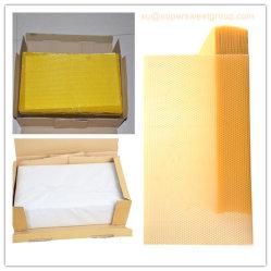 شمع عسل أساس صفح, شمع عسل مشط أساس مع شمع نحل طبيعيّ