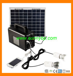 Commerce de gros fabricant de système d'alimentation solaire portable