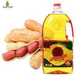 Olio di arachide raffinato, migliore qualità, Cina