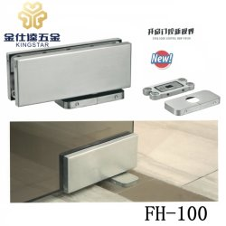 glas deur - dichtere Hydraulische Scharnier fh-100 van de Vloer van het Flard Fitting/No Gravende de hardware van de glasmontage