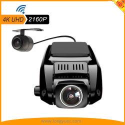2.4Inch Automóvil grabador con 4K 2160p WiFi GPS G-Sensor de grabación en bucle