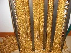 Cadena de perlas de la cadena de metal hermosa cortina divisor