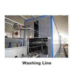 Los tambores de acero/Línea de producción de barriles de lavado automático y sala de secado