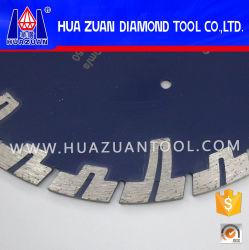 230*3,0*10mm Sinter Diamant-Sägeblatt mit geschütztem Segment