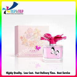 Design personnalisé impression Papier pliage Rose Boîte de parfum