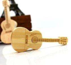O bambu / USB guitarra criativos de madeira