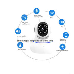 960p 1080P volle HD drahtlose Warnungs-Tür-Rauch-Fühler-Überwachungskamera der IP-Kamera-Netz WiFi Baby-Monitor-Unterstützungs433mhz