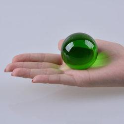 50mm 5cm 태양열 집열기 K9 질 수정같은 구체 유리제 공