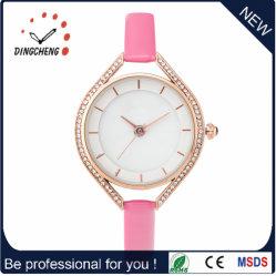 Het nieuwe Horloge van het Kwarts van de Vrouwen van het Leer van de Manier van Juwelen Echte